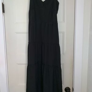 Black BCBG MAXAZRIA Maxi Dress